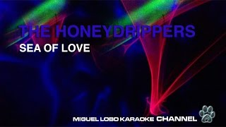 THE HONEYDRIPPERS - SEA OF LOVE - Karaoke Channel Miguel Lobo