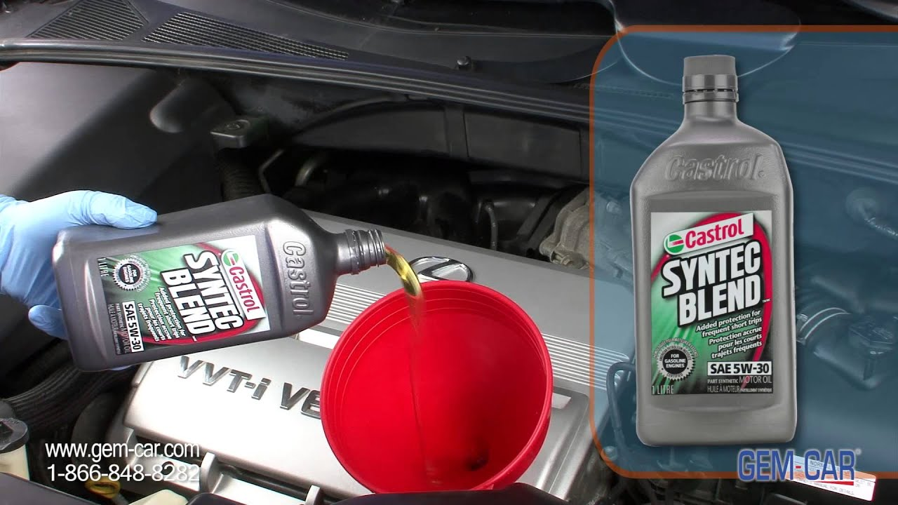 Why use Semi Synthetic Oil vs regular Castrol CARQUEST Powered