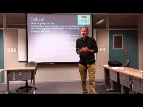 Teaching Speaking Skills / Functional Language TESOL Course