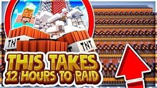 THIS BASE TAKES 12 HOURS TO RAID... | Minecraft Factions | VanityMC | [5]