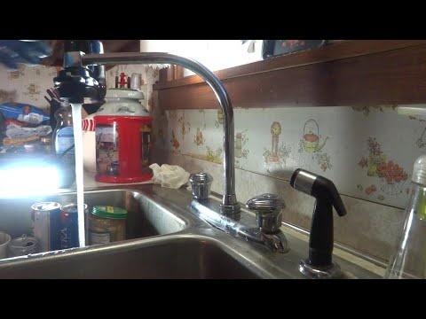 Kitchen Faucet Leaking At Base Of Spout Fixed