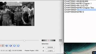 Add Chapters to .MP4 Free on Mac