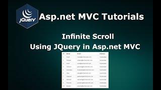 Infinite Scrolling Using JQuery Ajax in Asp.net MVC