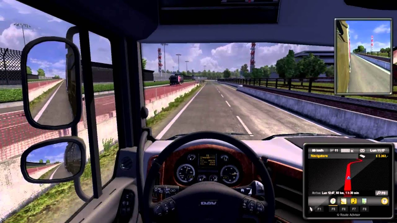 Euro truck simulator 2 gameplay ita pc a spasso per l for Simulatore di arredamento