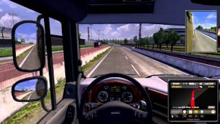 Euro Truck Simulator 2 Gameplay Ita PC - A spasso per l