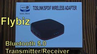 Flybiz JRBC05 Bluetooth 5.0 Transmitter/Receiver - Review and Set Up