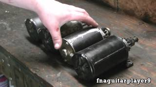 How to Remove and Replace a starter motor on Briggs and Stratton single cylinder engines