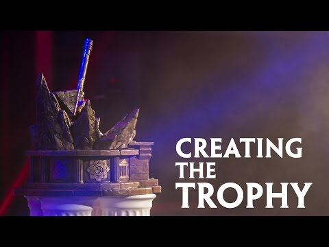 Creating the Trophy (SMITE World Championship)