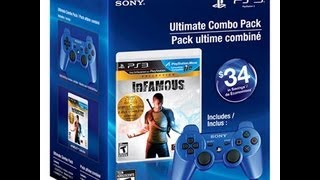 DualShock 3 with Infamous Collection Bundle