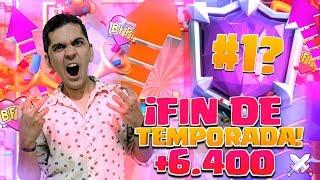 RUBEN TEAMQUESO, POMPEYO, ROYAL ULTIMO DIA DE TEMPORADA!! 😍 CLASH ROYALE 😎