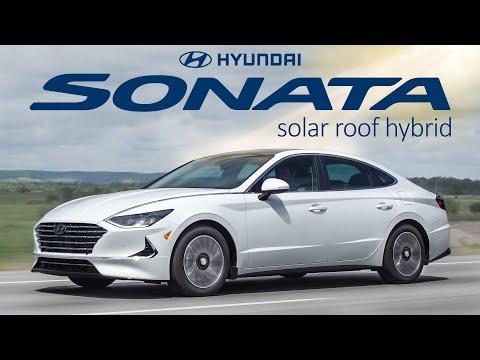 SOLAR Power Car - 2020 Hyundai Sonata Hybrid