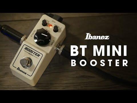 Ibanez Booster MINI demo