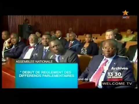 : Debut de reglement des dfferents parlementaires et le nouveau passport biometrique avec puce