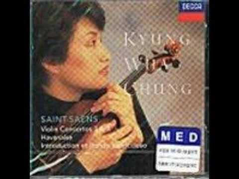 Kyung Wha Chung - Saint-saens Violin Concerto No.3 - 1st