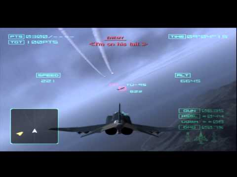 Ace Combat 4 Mission 1 Sitting Duck