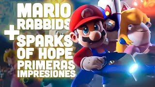 NUEVO MARIO RABBIDS en SWITCH gameplay SPARKS OF HOPE es lo nuevo de NINTENDO/UBISOFT y es GALÁCTICO