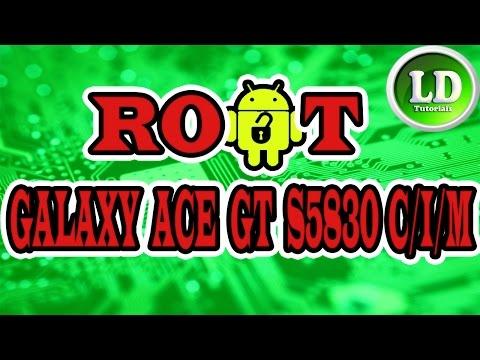 Como fazer Root no samsung galaxy Ace GT S5830 C/I/M