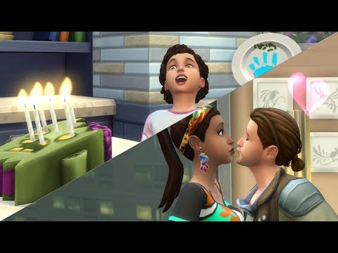 The Sims 4: HUSBAND AND WIFE LETS PLAY // EP 30 (TWINS AGE UP!) thumbnail