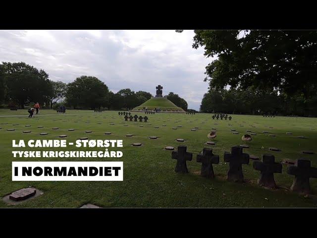 La Cambe tysk Krigskirkegård i Normandiet, D-dag