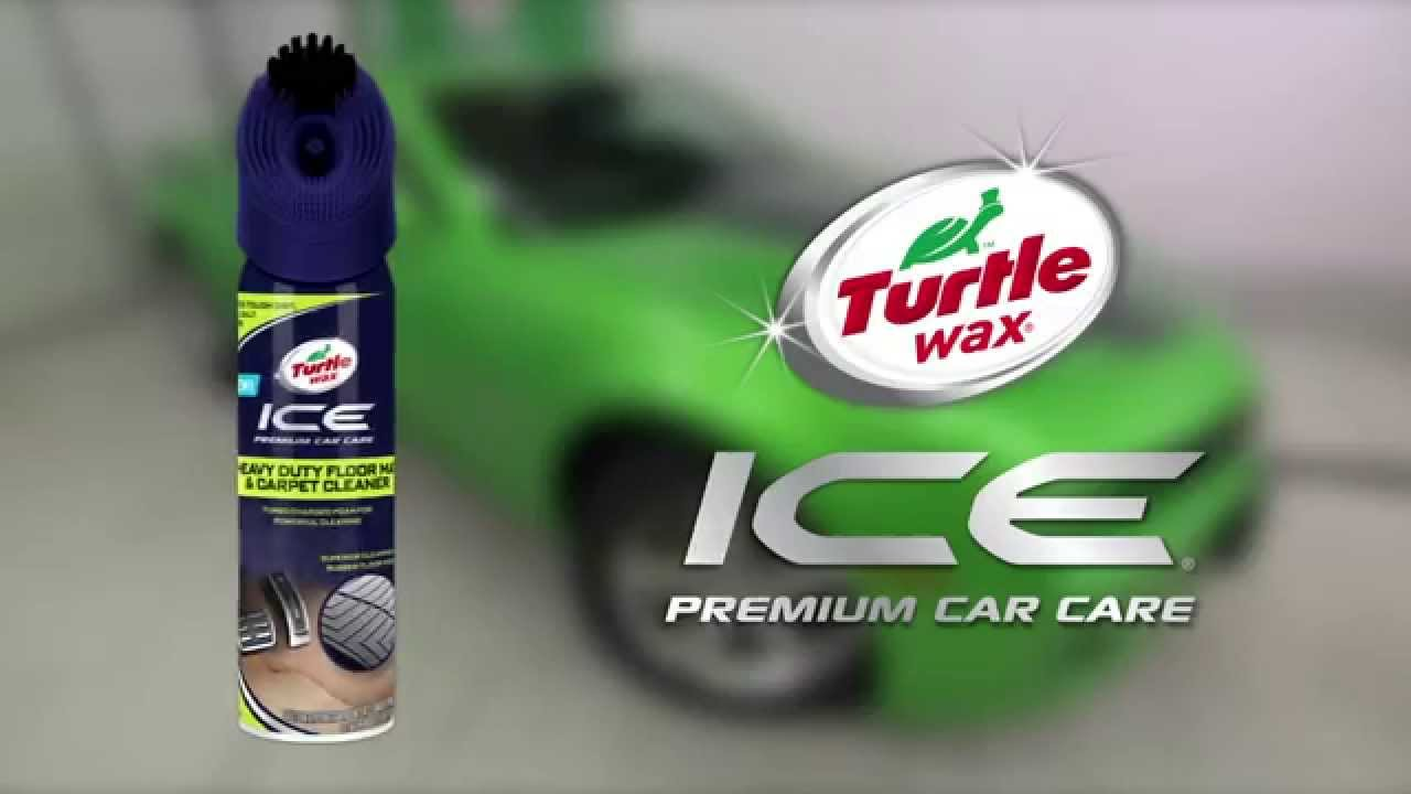 How To Use Turtle Wax Ice Heavy Duty Floor Mat Amp Carpet