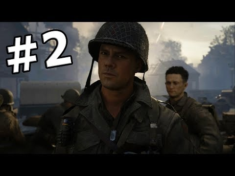 CALL OF DUTY WWII - CAMPAGNA - Let's Play ITA (Parte 2) OPERAZIONE COBRA!