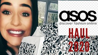 ASOS CLOTHING HAUL 2020   TRY ON HAUL   HIGH STREET FASHION HAUL