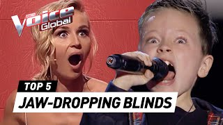 Download JAW-DROPPING Blind Auditions that shocked our coaches on The Voice Kids