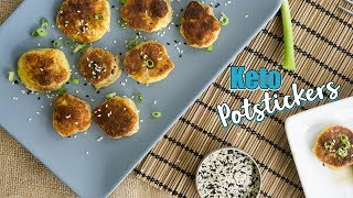 Zero Carb Keto Potstickers | Asian Pork Filling