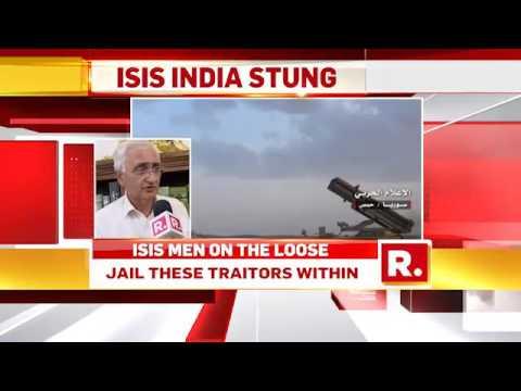 Salman Khurshid on Repulic TV ISIS expose