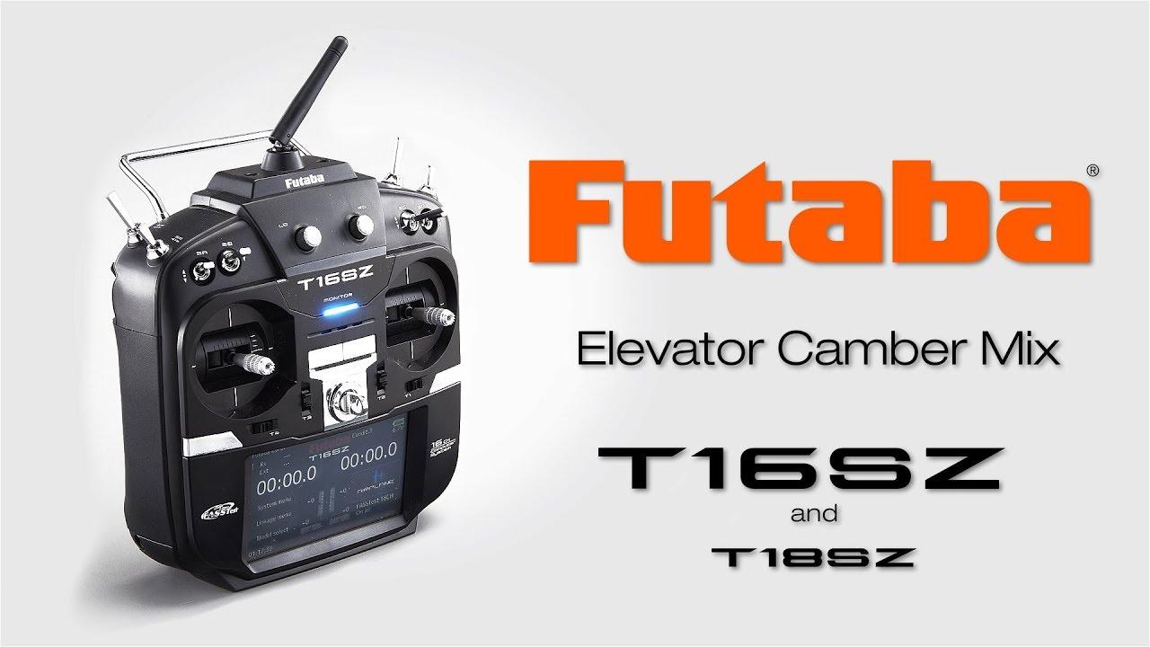 Futaba 16SZ Selecting Model Type: Tips & How-To's - YouTube