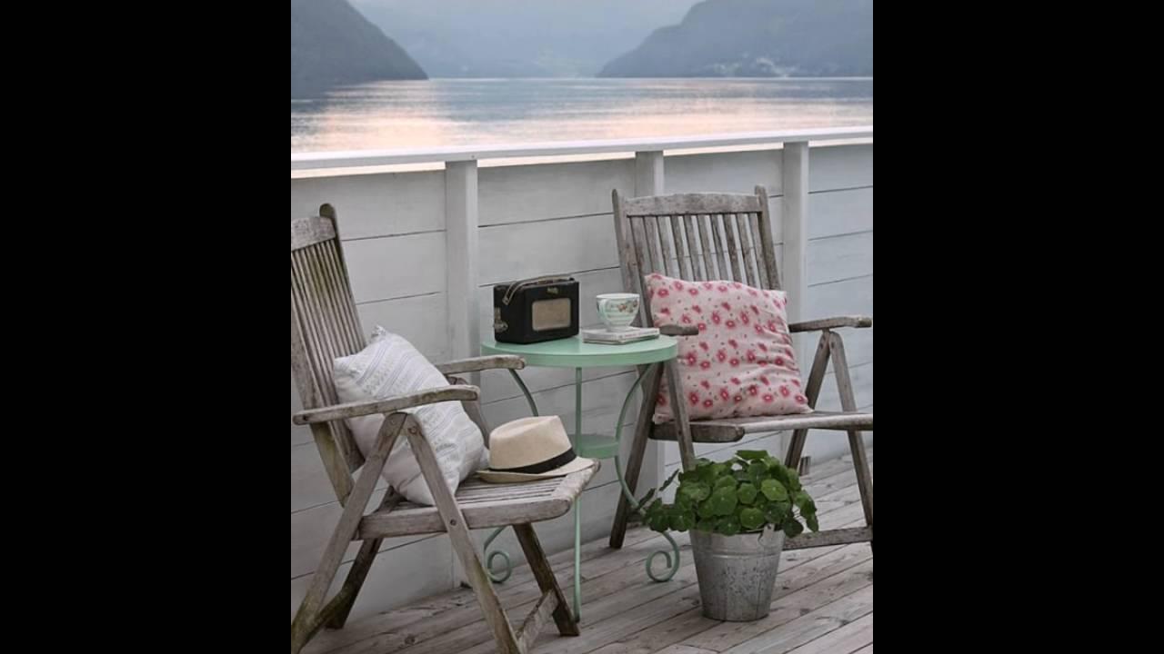 Holzerne Moderne Balkonmobel Balkon Ideen Fur Draussen Balkon