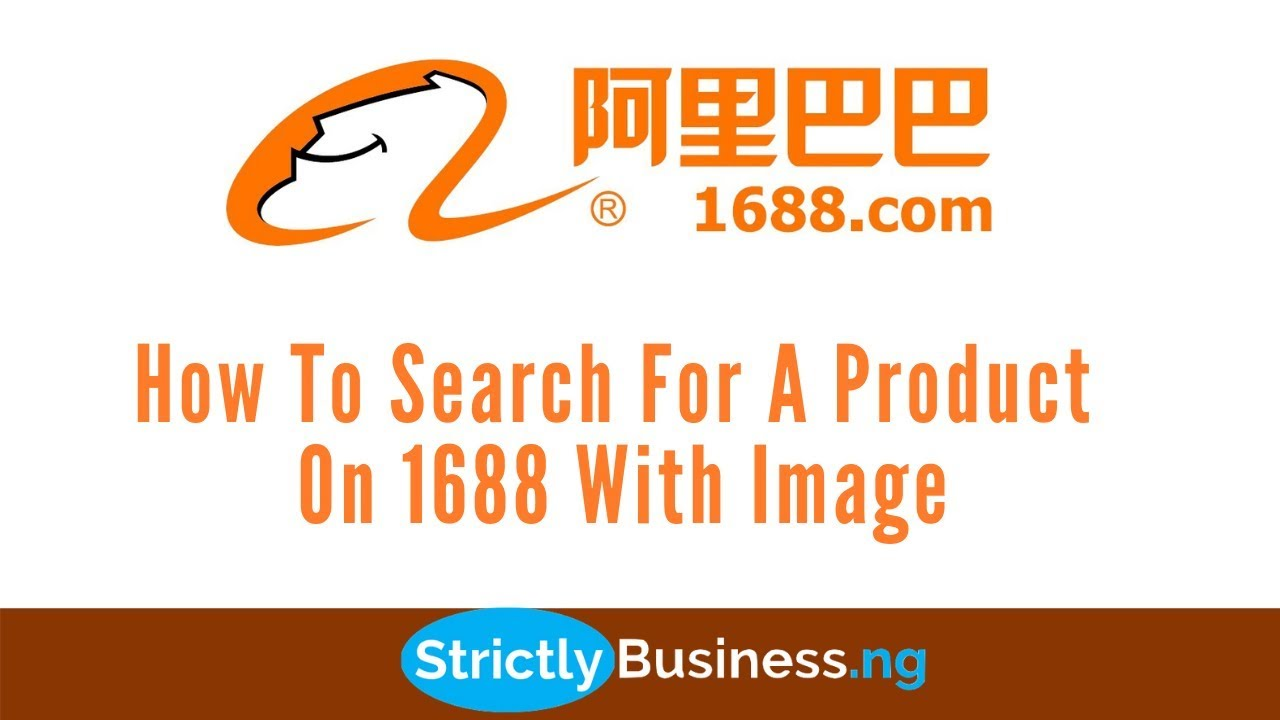 How To Search For A Product On 1688 With Image - YouTube