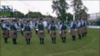 Medley - SFU Pipe Band wins the World Pipe Band Championship in 2008