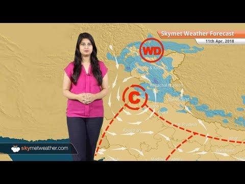 Weather Forecast for Apr 11: Rain in Delhi, Kerala, Tamil Nadu, Karnataka