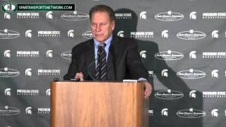 Tom Izzo Press Conference: Beating Loyola, Marvin Clark, Big Men and stupid scheduling