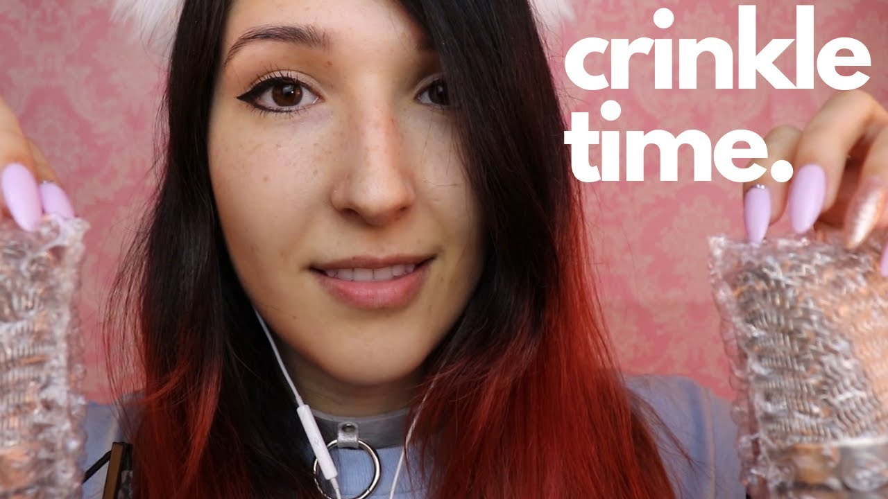 ASMR - DOUBLE CRINKLE ~ Intense Ear-to-Ear Crinkles for Tingly Sleepies ~