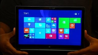 The 13-inch Lenovo Yoga Tablet 2 has a quad-HD display and runs Windows 8