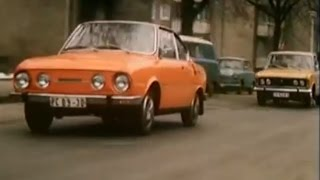 Verfolgungsjagd Skoda S110R Polski Fiat 125p