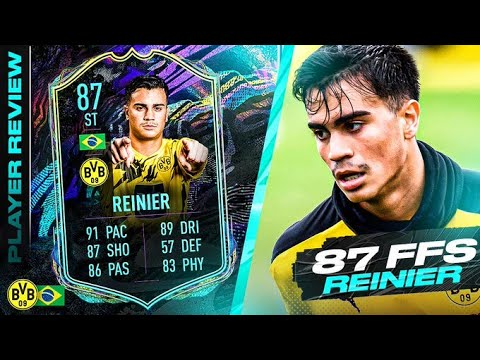 OMG HIDDEN 5* WEAK FOOT?! 😱 FULLY UPGRADED 87 FUTURE STARS REINIER REVIEW! FIFA 21 Ultimate Team