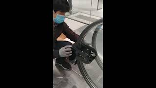 핸드레일소독기 설치영상