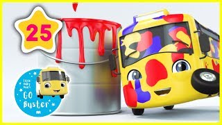 Learn Colors - COLORS RAP!!! | Go Buster Official | Nursery Rhymes |  ABCs and 123s | #LearnColors