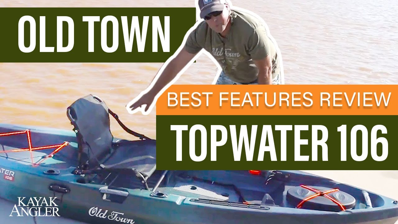Old Town Canoe Topwater 106 At Paddlesports Retailer 2018