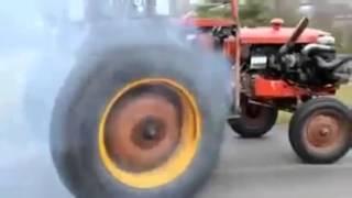 Il trattore più veloce al mondo