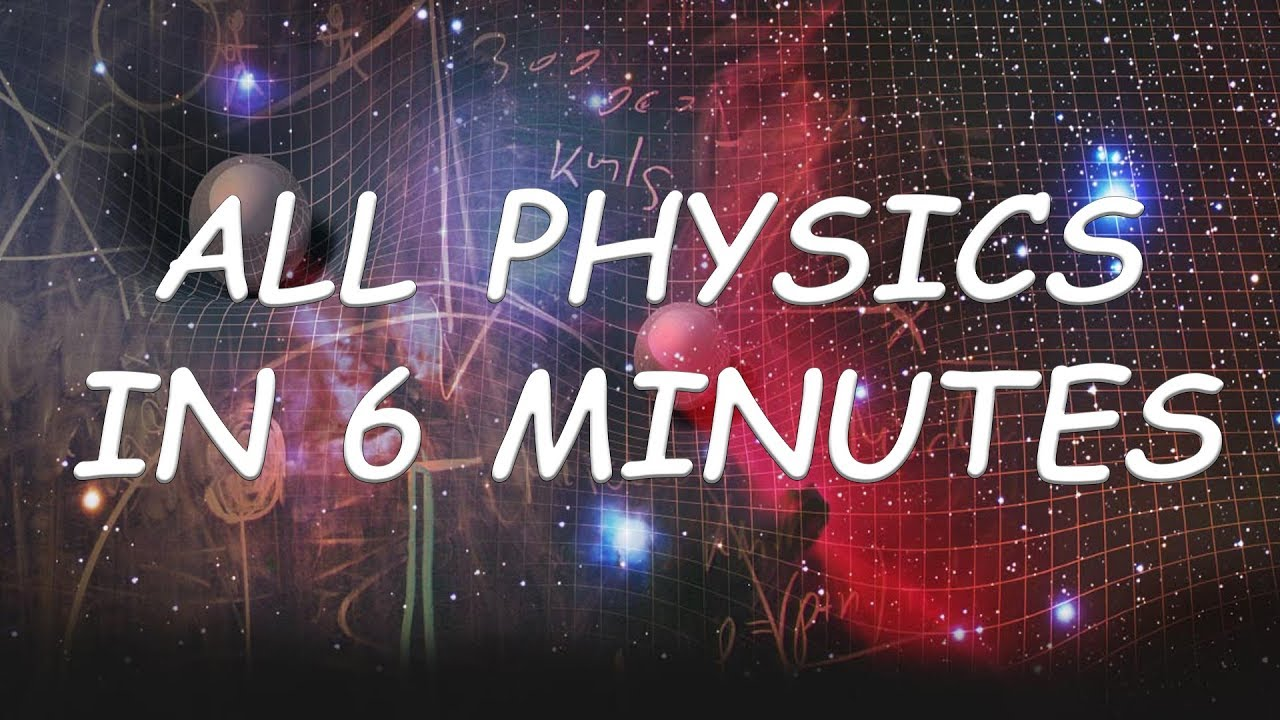 Physics in 6 minutes