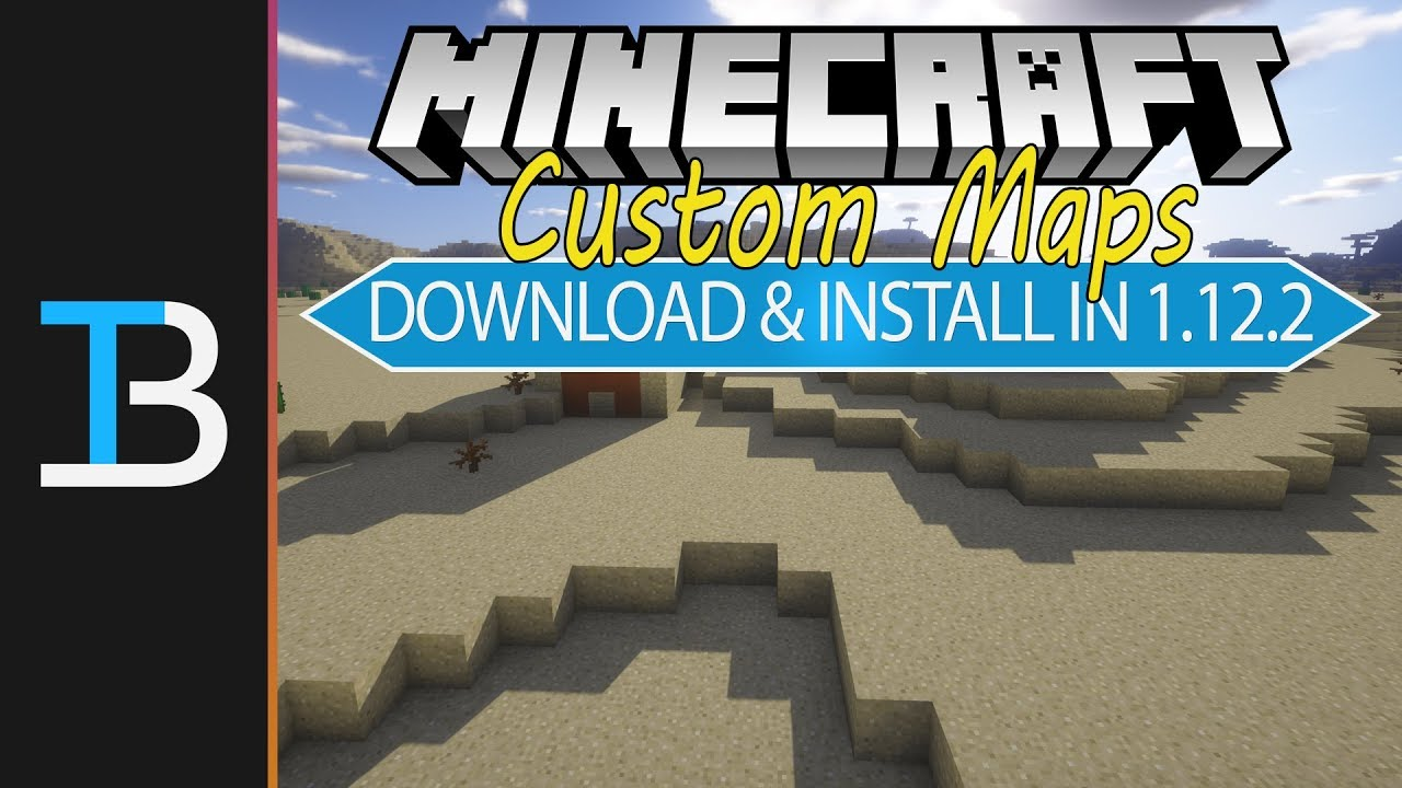 How To Download Install Custom Maps In Minecraft YouTube - Wie downloade ich maps fur minecraft