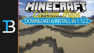 How To Download & Install Custom Maps in Minecraft 1.12.2