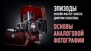 Основы аналоговой фотографии. Зеркальные камеры и экспозиция. Дмитрий Скобелев
