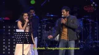 """Ninna Danigaagi"" song by Karthik and Chaitra Along with Ravichandra Kulur @ 53rd BGU..!!!"