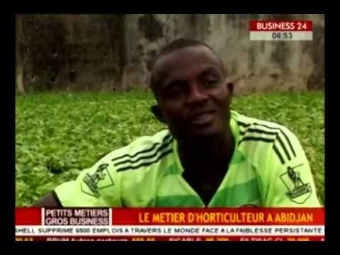 Bousiness 24 / Petits Métiers - Gros Business : Le métier d'horticulteur a Abidjan