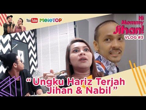 Hi Mommy Jihan Vlog #3   Ungku Hariz Terjah Jihan Muse & Nabil Ahmad Masa Rehearsal Gegarvaganza